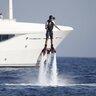 7 августа 2013 года. Ди Каприо отдыхает на Ибице.