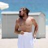 19 июля 2014 года. Леонардо Ди Каприо на отдыхе в Майами