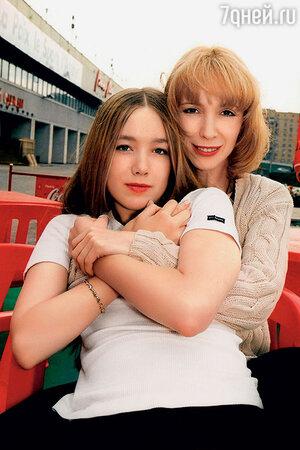 Дарья Мороз с мамой Мариной Левтовой