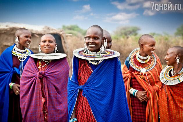 Женщины Масаи