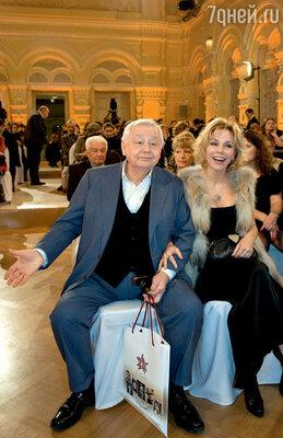 Олег Табаков: «Все раздам детям!» С женой Мариной Зудиной