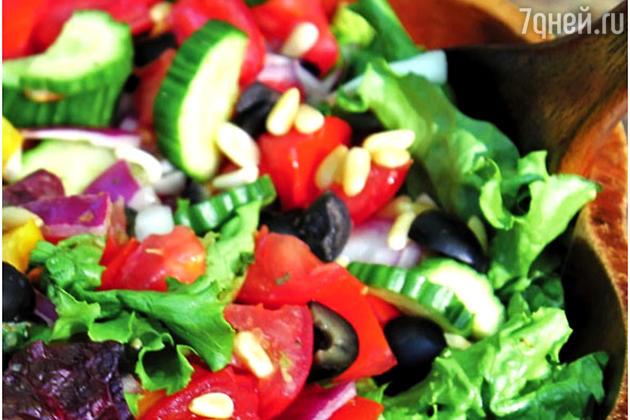 Греческий салат с орехами: рецепт холодной закуски