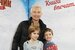 Диана Арбенина с сыном Артемом и дочкой Мартой