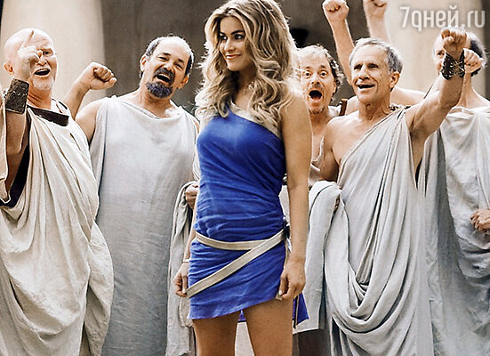 Кадр фильма «Знакомство со спартанцами»