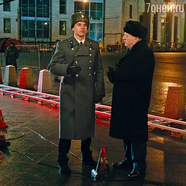 Игорь Петренко с Сергеем Газаровым