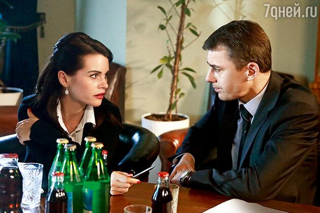 Игорь Петренко с актрисой Ксенией Луговой