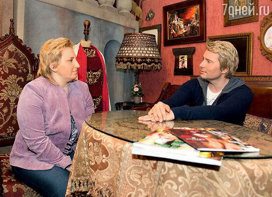 «Мой двойник — женщина, это потрясающе!» — удивлялся Николай Басков. В студии у Екатерины Рождественской