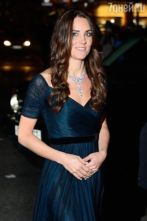 Кейт Миддлтон надела бриллиантовое колье Елизаветы II