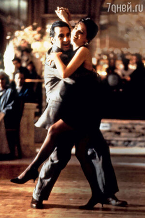 Аль Пачино и Габриэль Анвар в фильме «Запах женщины». 1992 г.