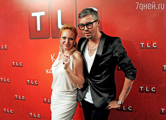 Алла Довлатова и стилист Александр Рогов