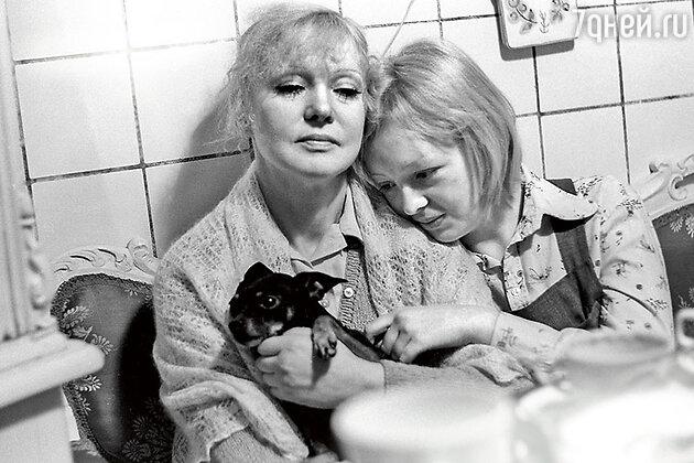 Людмила Гурченко с дочерью Машей