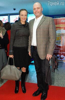 Алексей Кортнев с женой Аминой Зариповой