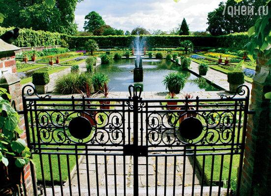Королевский парк в Кенсингтонском саду доступен любому любителю красивых цветов и свежего воздуха