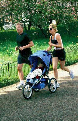 Лондонцы — большие поклонники спорта. Даже детей к здоровому образу жизни приучают с пеленок