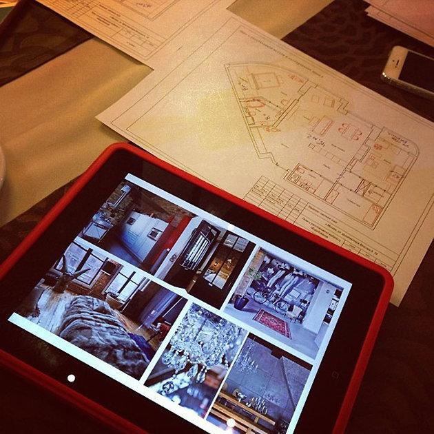 Алена Водонаева самостоятельно проектирует планировку в новой квартире