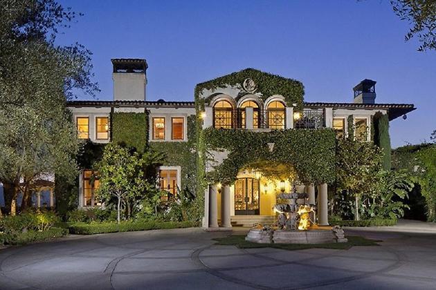 Дом Хайди Клум в Лос-Анджелесе
