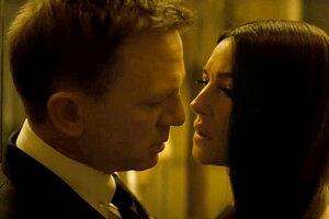 В новый трейлер фильма «007: Спектр» попали откровенные сцены с Беллуччи
