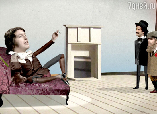 Кадр из фильма« Автобиография лжеца 3D»