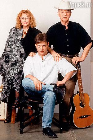 Петр, Мира и Валерий Тодоровские