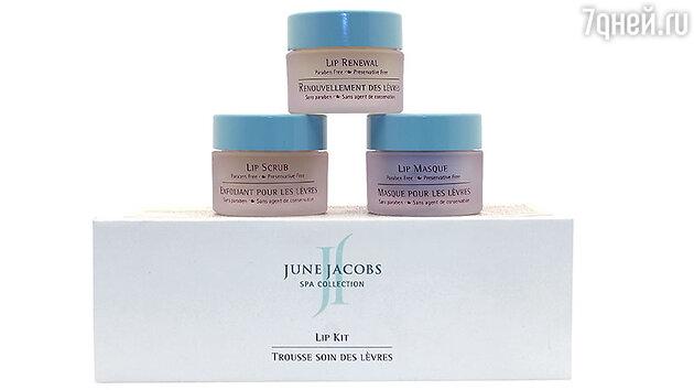 Программа по уходу за кожей губ June Jacobs SPA Collection