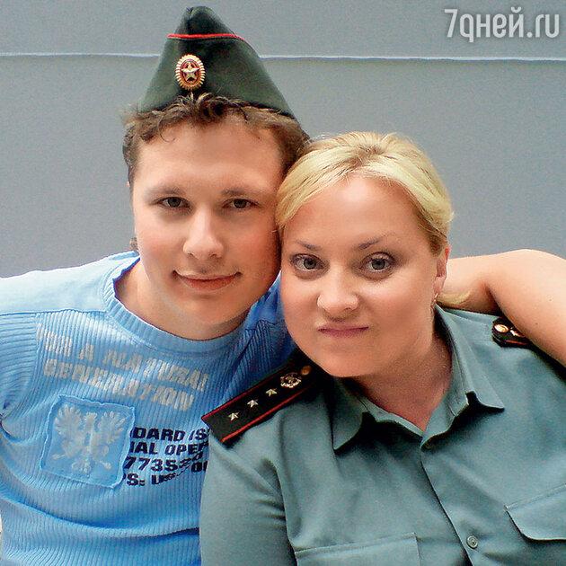 Светлана Пермякова и Максим Скрябин