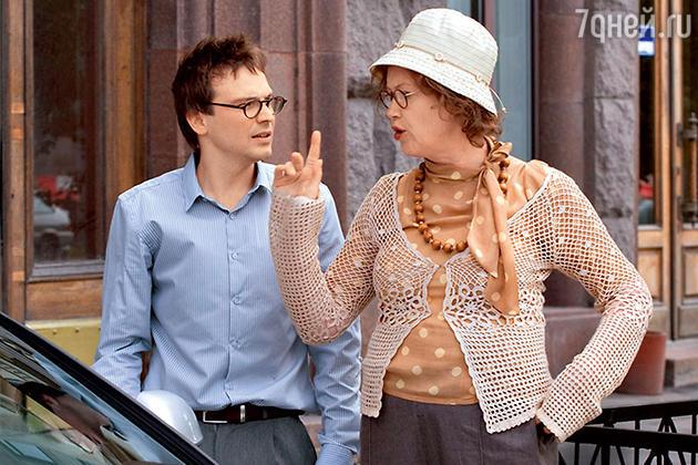Алексей Чадов с Ириной Розановой в фильме «Соблазнить неудачника», 2010 год