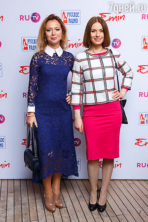 Елена Захарова и Ирина Лачина