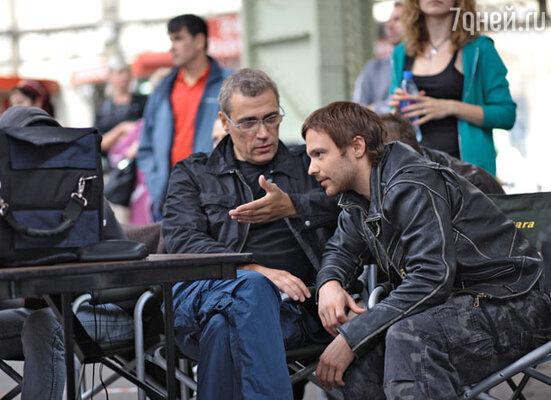 На съемочной площадке фильма « Солдат»