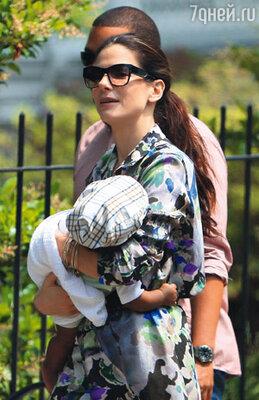С сыном Луи