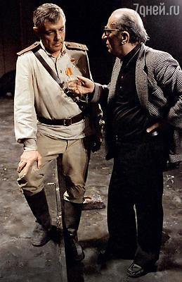 Отношения между Товстоноговым иЛавровым складывались непросто. Георгий Александрович слишком верил в необходимость классического театрального образования. 1985 год