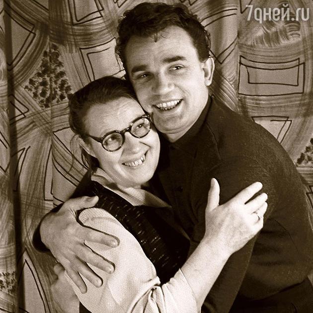 Евгений и Полина Филипповна Урбанские