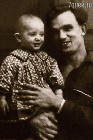 Евгений Урбанский с дочерью Аленой