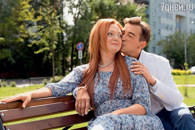 Николай Добрынин с женой Екатериной