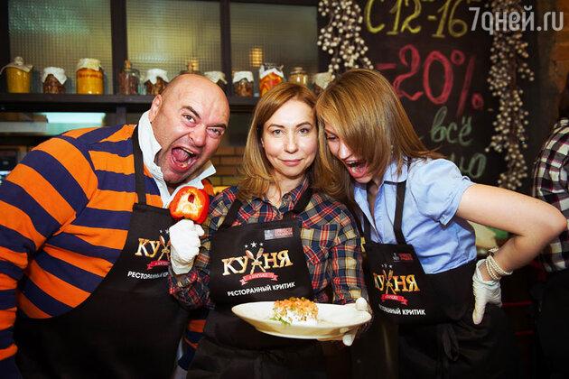 Участники поединка сражались за звание «Лучшего кино-кулинарного критика страны»