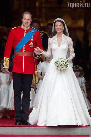 Свадьба принца Уильяма и герцогини Кэтрин. 2011 год