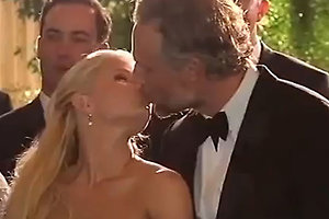 Опубликовано видео со свадьбы Джессики Симпсон