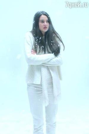 Кадр из фильма «Белая птица в метели»