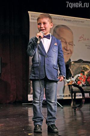 Внук Александра Журбина Бенждамен