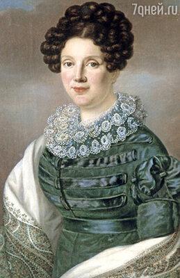 Виновница дуэли — балерина Истомина, прославленная Пушкиным в «Евгении Онегине»