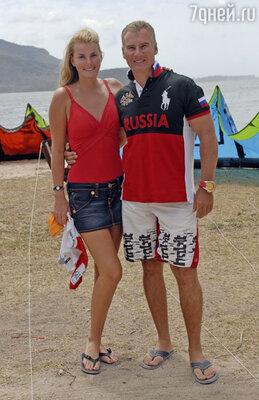 С мужем Алексеем Нусиновым