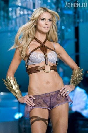 Хайди Клум считается одной из самых известных моделей в мире и бессменным «ангелом» компании Victoria's Secret с 1999 вплоть до 2010 года