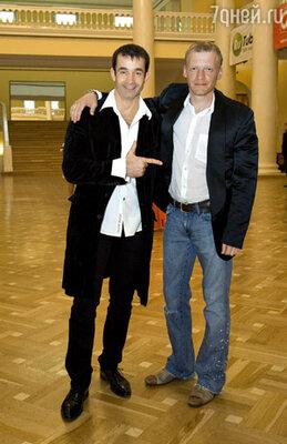 Дмитрий Певцов с Алексеем Серебряковым