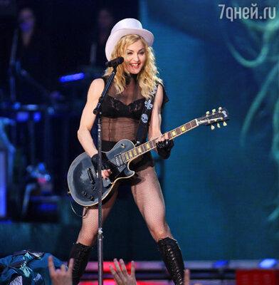 Мадонна на концерте в Санкт-Петербурге