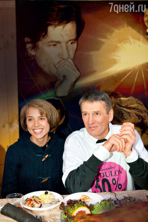 Ксения Алферова и Александр Абдулов