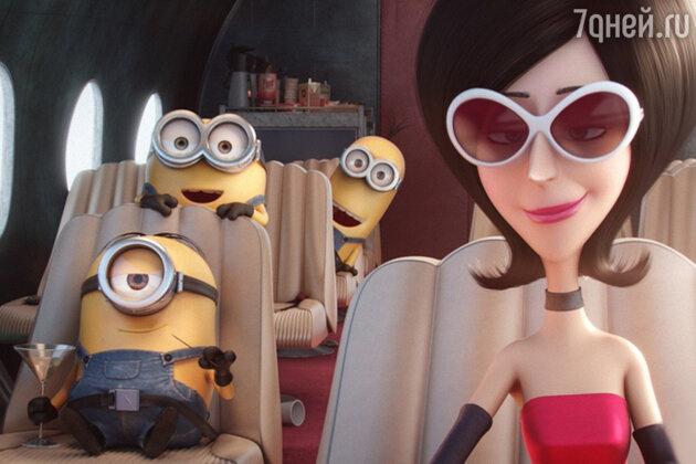 Кадр из  мультфильма «Миньоны»