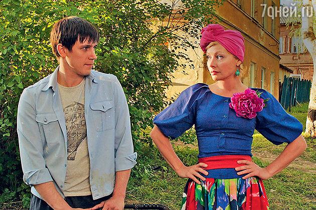 Алена Бабенко и Леонид Бичевин