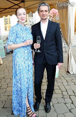 Дарья Мороз с мужем