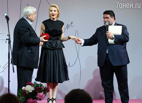 Олег Табаков, Рената Литвинова и Михаил Куснирович