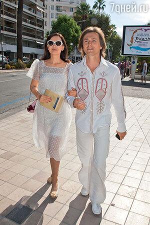 Сергей Безруков и Ирина Ливанова