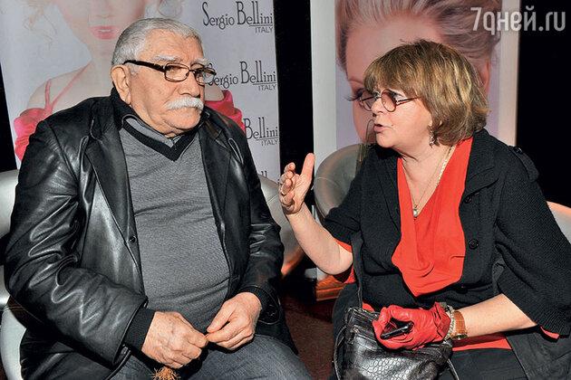 Армен Джигарханян с Аллой Суриковой
